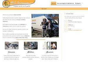 créer un site internet pourM et S serrurerie