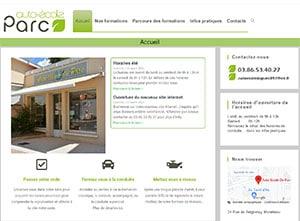 créer un site internet pour auto école du parc